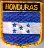 Flag Patch - Honduras 07