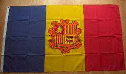 Andorra Country Flag - 5' x 3'.