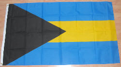 Bahamas Country Flag - 5' x 3'.