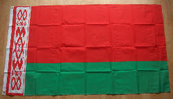Belarus Country Flag - 5' x 3'.