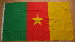 Cameroon Country Flag - 5' x 3'.