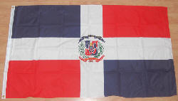 Dominican Republic Country Flag - 5' x 3'.