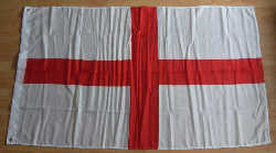 England Country Flag - 8' x 5'.