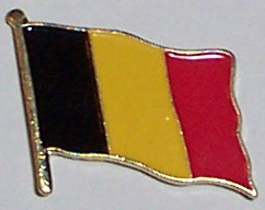 Flag Badge - Belgium