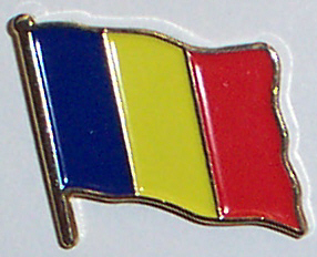 Flag Badge - Chad