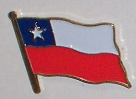 Flag Badge - Chile