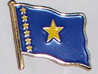 Flag Badge - Congo, Democratic Republic of