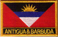 Flag Patch - Antigua & Barbuda 09