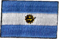 Flag Patch - Argentina 04