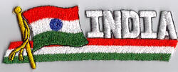 Flag Patch - India 01