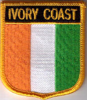 Flag Patch - Ivory Coast 07