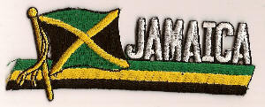 Flag Patch - Jamaica 01
