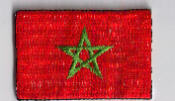 Flag Patch - Morocco 04