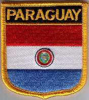 Flag Patch - Paraguay 07