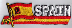 Flag Patch - Spain 01