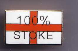 Stoke City Football Badge 009.